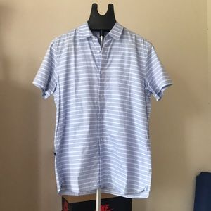 EUC Calvin Klein short sleeve button down